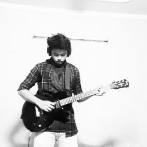 "Nakul on Instagram: ""Random improv over some g minor track swipe left . . . . . . . . . . . . . #iplaycort #guitarsolo #improvisation"""