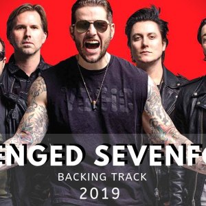 Avenged Sevenfold Style Backing Track in Db minor