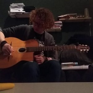 Rest stroke picking practice
