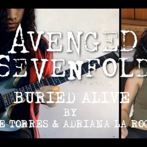 Avenged Sevenfold - Buried Alive | Guitar/Vocal Cover with my italian friend.