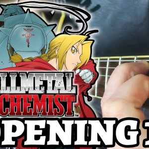 FULL METAL ALCHEMIST – OPENING 1 (Guitar Cover by Luca Saccomando)