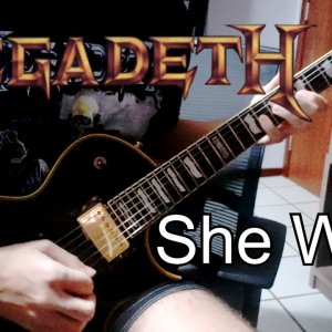 Picking practice with Megadeth