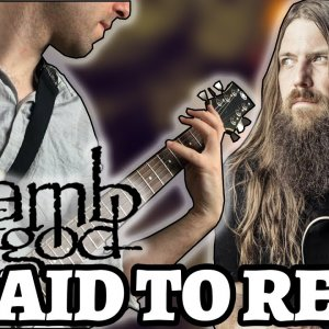 LAMB OF GOD – LAID TO REST (Guitar Cover by Luca Saccomando)