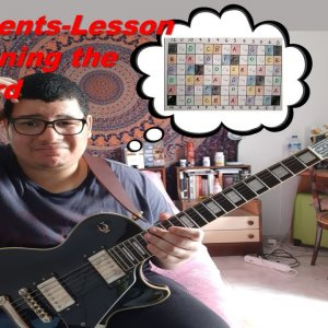 CJ's 2 Cents Lesson 42 Learning the Fretboard