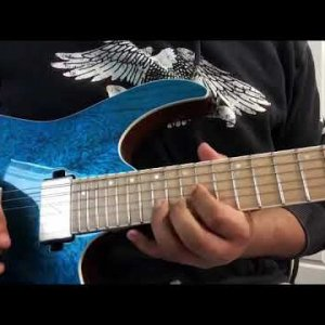 Seize the day solo cover (Avenged Sevenfold)
