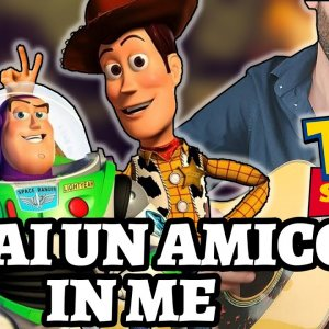TOY STORY – HAI UN AMICO IN ME (Guitar Cover by Luca Saccomando)