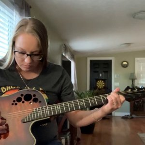 "Learning ""Down In a Hole""(unplugged version)  by Alice In Chains"