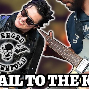 AVENGED SEVENFOLD– HAIL TO THE KING (Guitar Cover by Luca Saccomando)