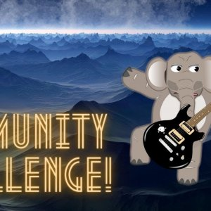 Community Challenge - Guitar Shred Baby!